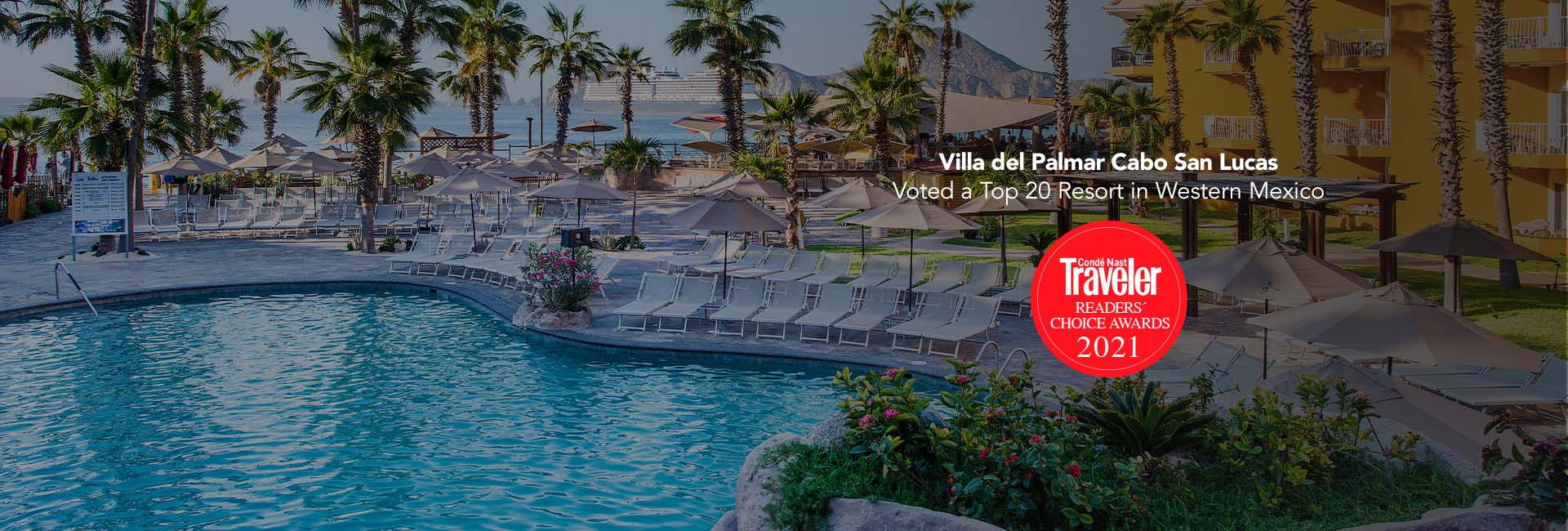 Villa del palmar cabo san lucas among the top 20 resorts in western mexico according to the conde nast ranking