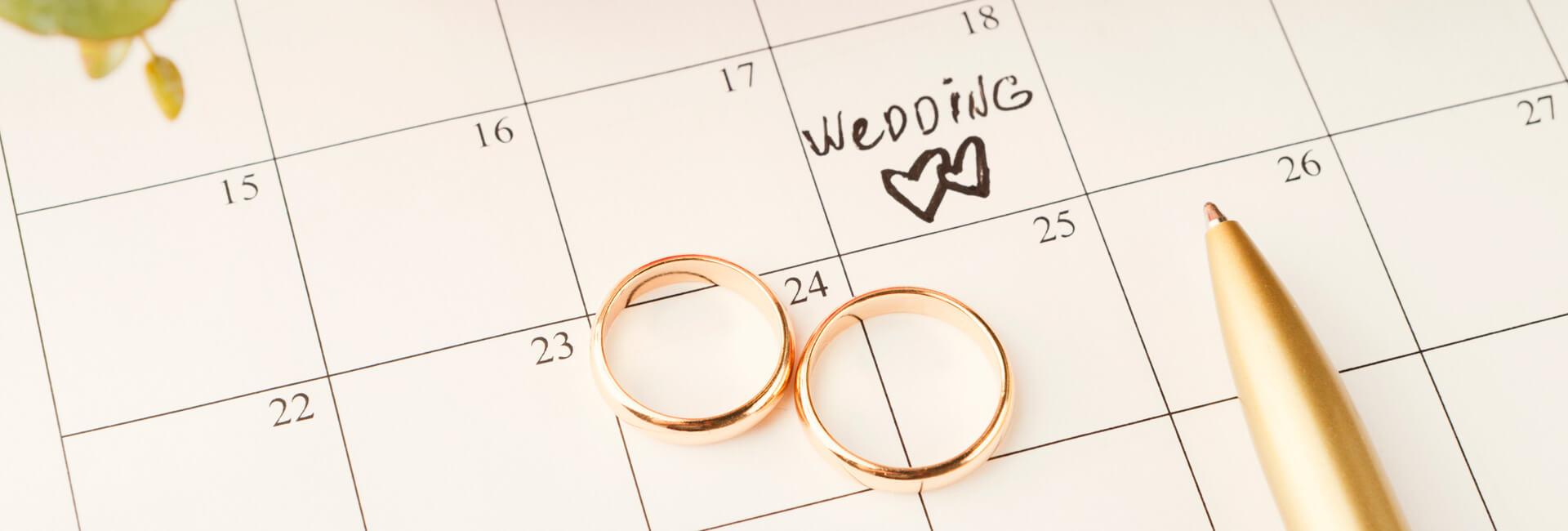Wedding roles list