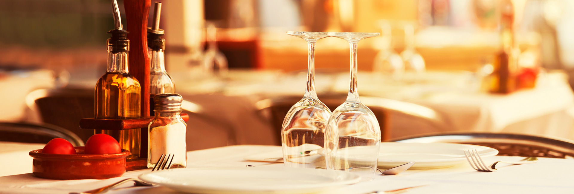 Incredible dining experiences