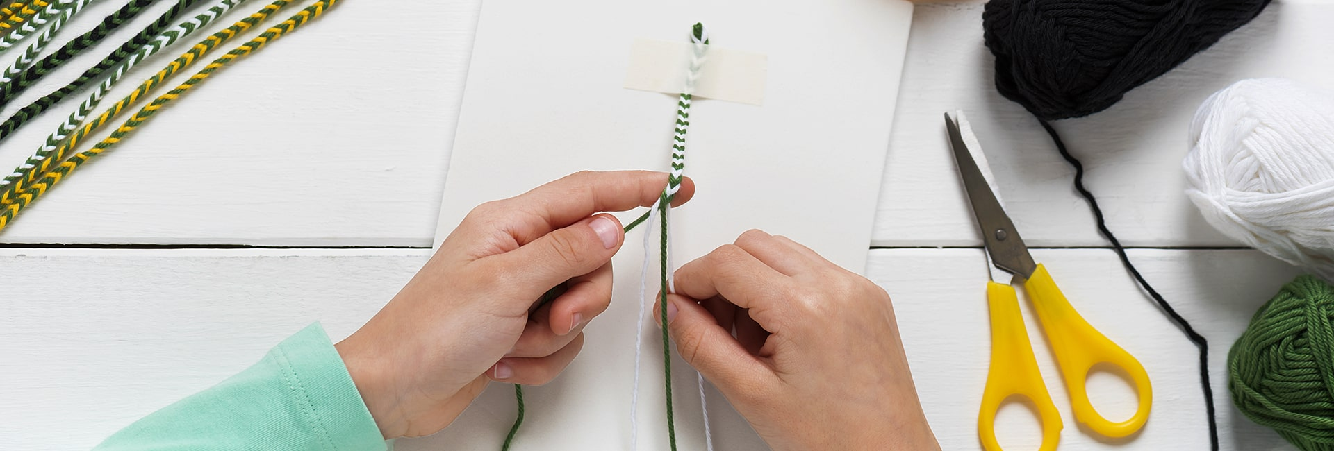 How to make bracelets at home with thread