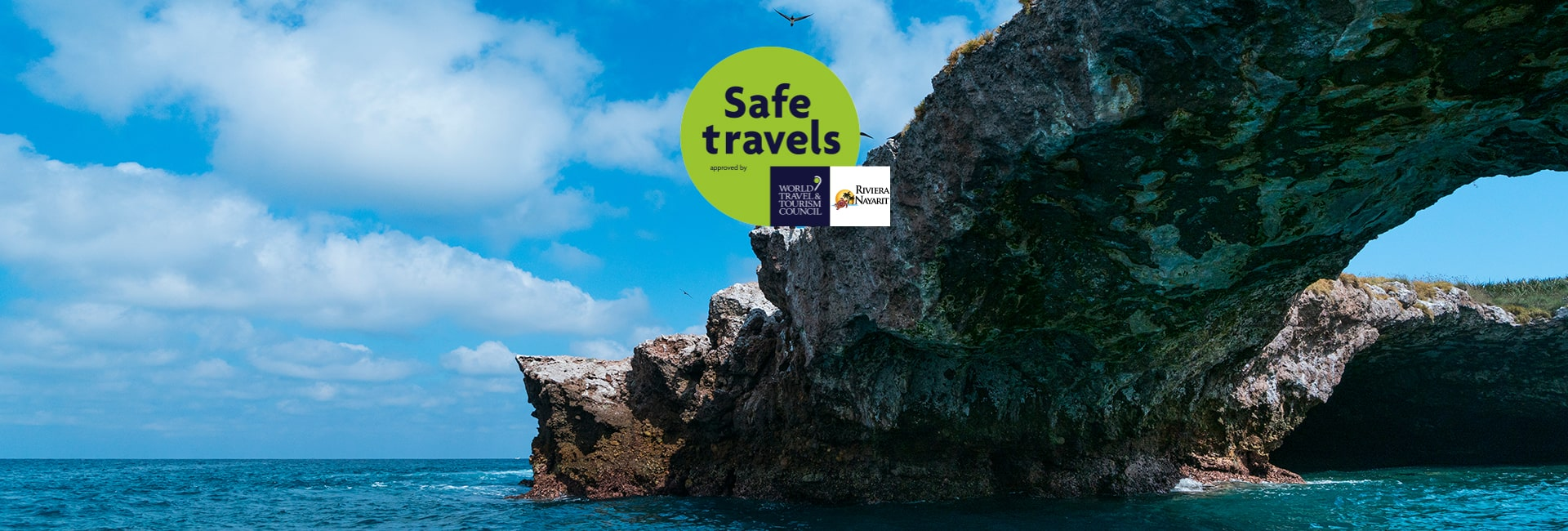 Riviera nayarit received the safe travel stamp from wttc