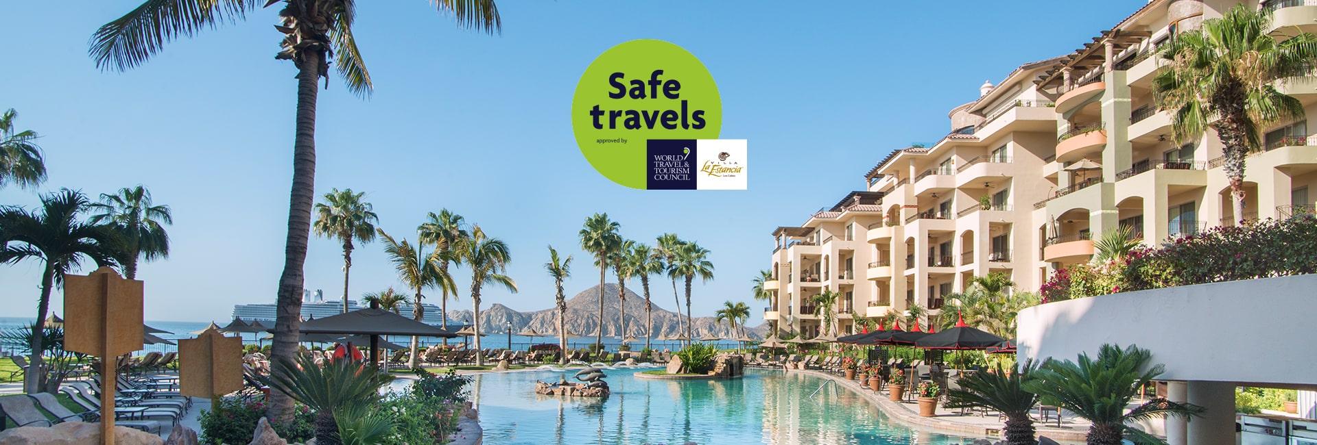 Villa la estancia los cabos earn wttc safe travels stamp