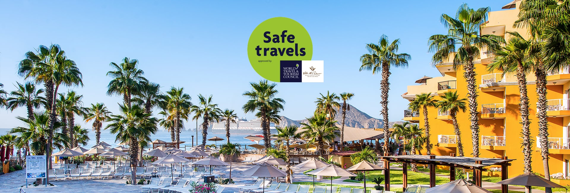 Villa del palmar cabo earns safe travels stamp from the wttc