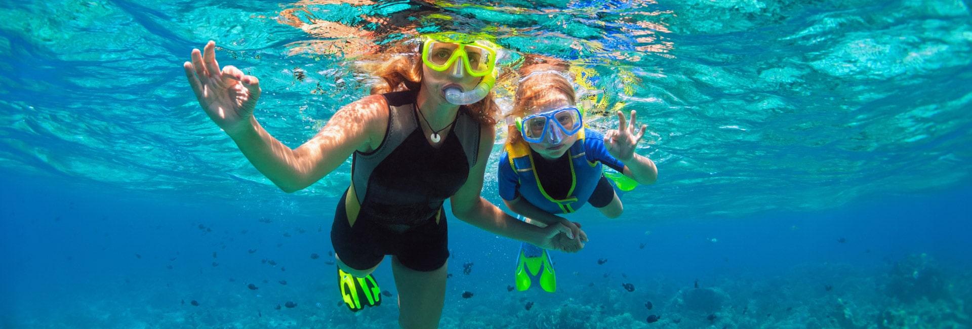 Snorkeling in nuevo vallarta