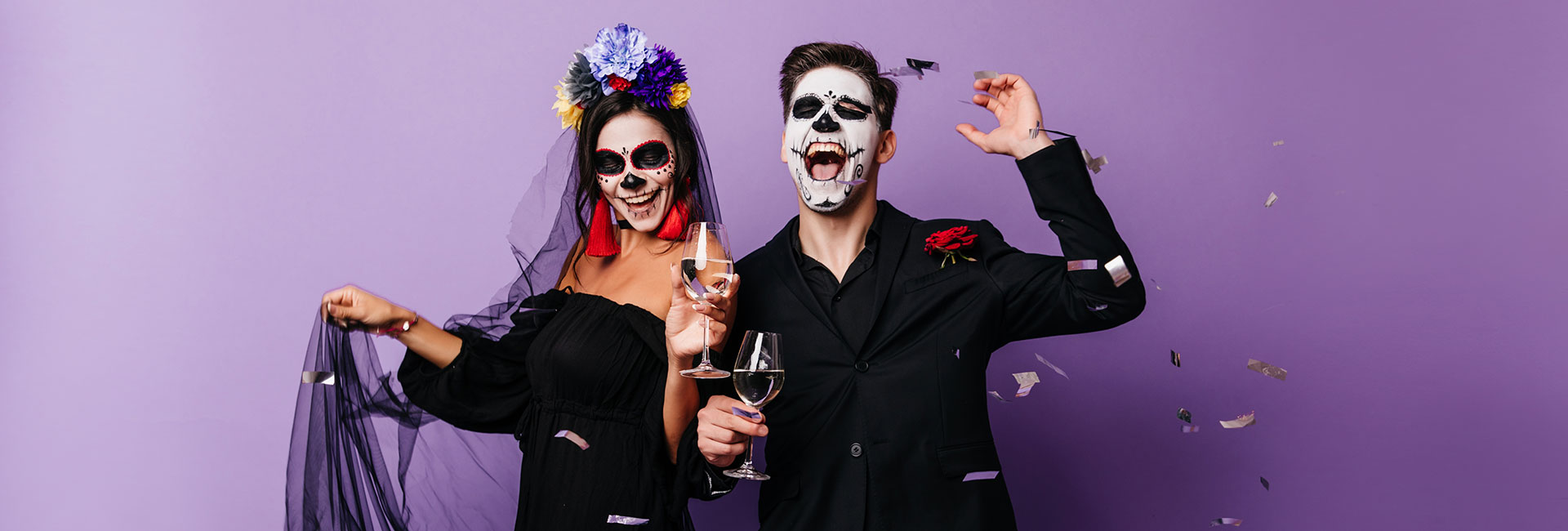 Halloween and day of the dead celebration in cabo san lucas