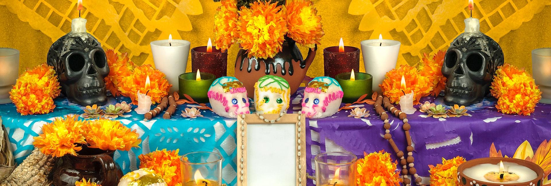 Optimizada day of the dead altar ideas