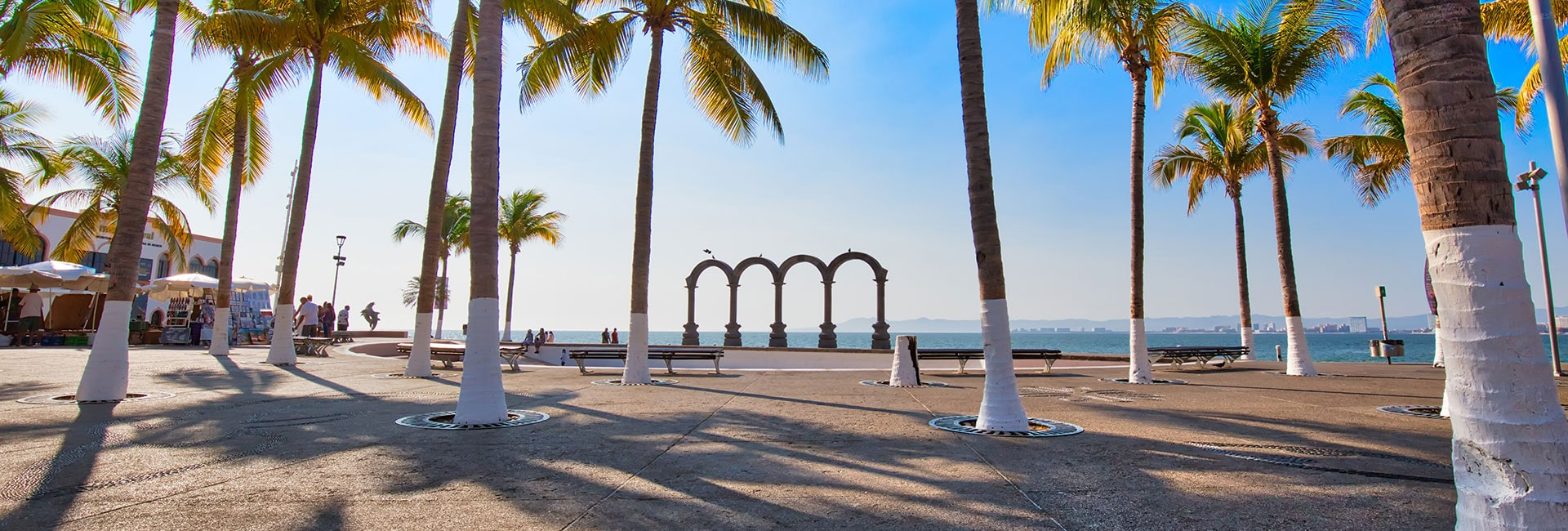 Arches Of Puerto Vallarta On The Malecon
