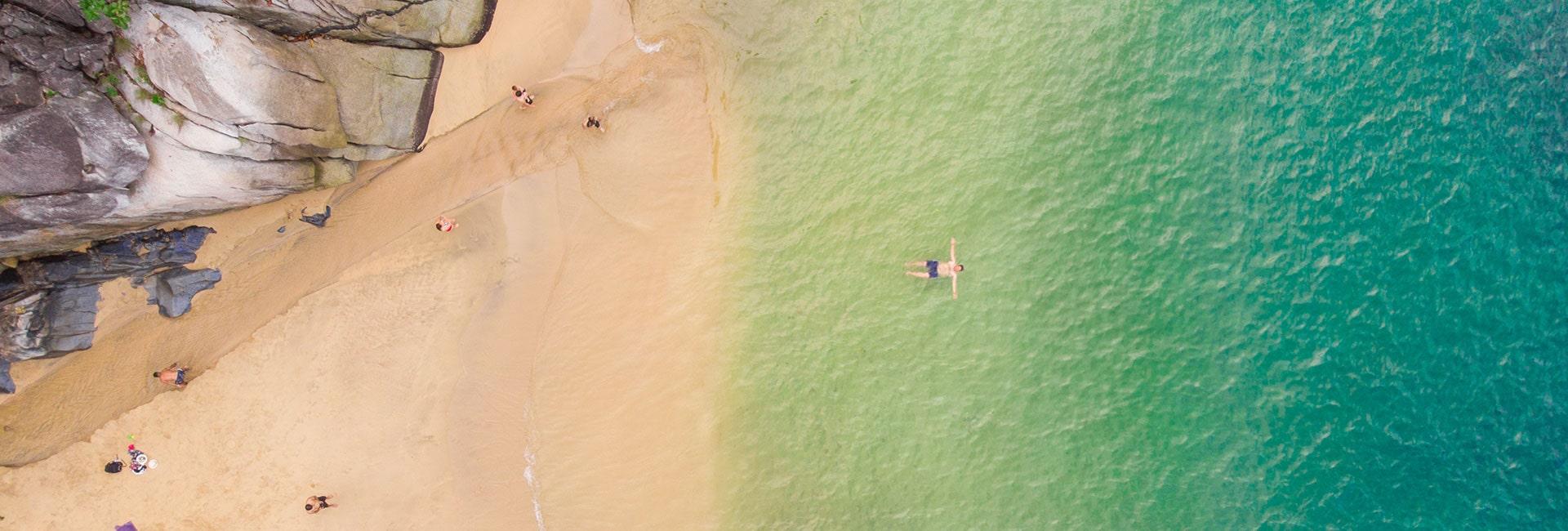 Beach in riviera nayarit