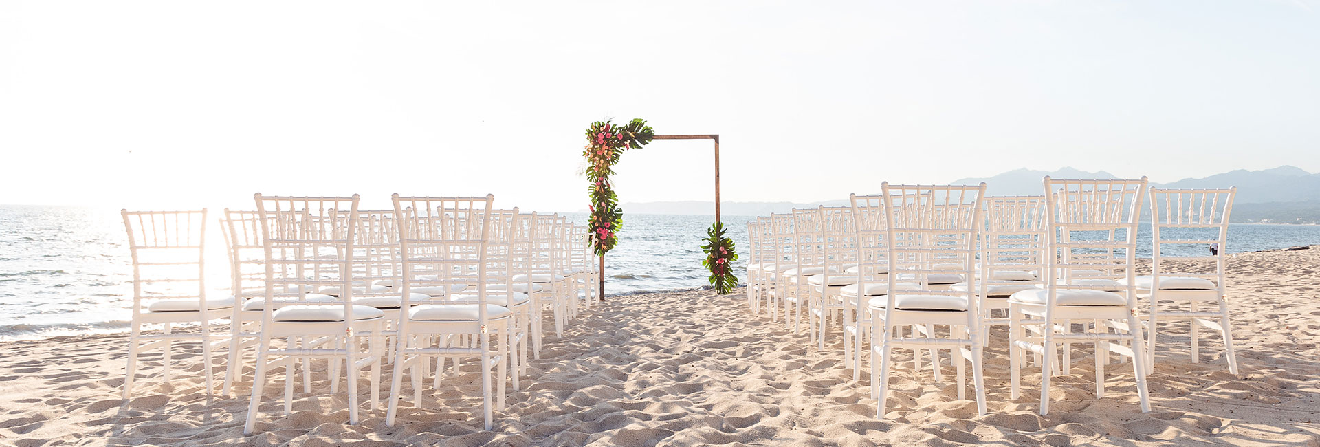 Beach wedding in nuevo vallarta