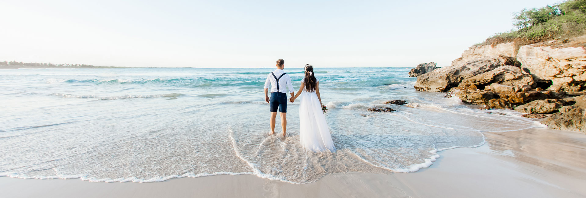 Optimizada beach wedding