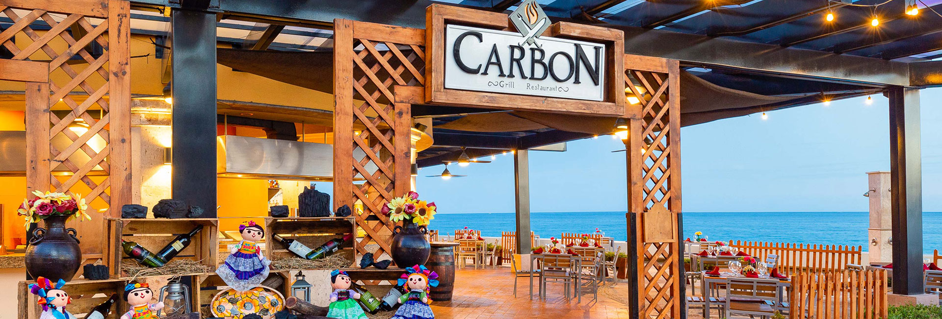 Carbon grill restaurant