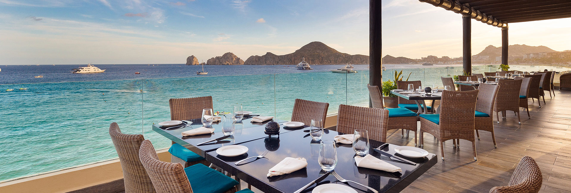 Neptune Restaurant At Villa Del Arco Cabo San Lucas