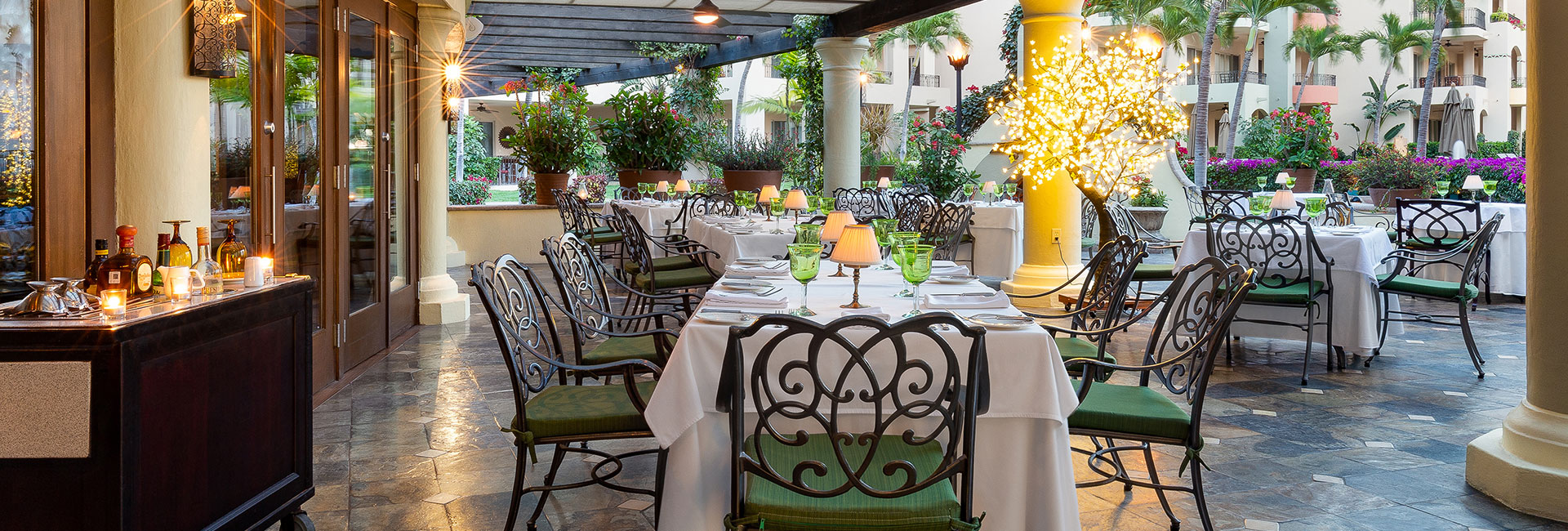 La casona restaurant villa la estancia cabo san lucas