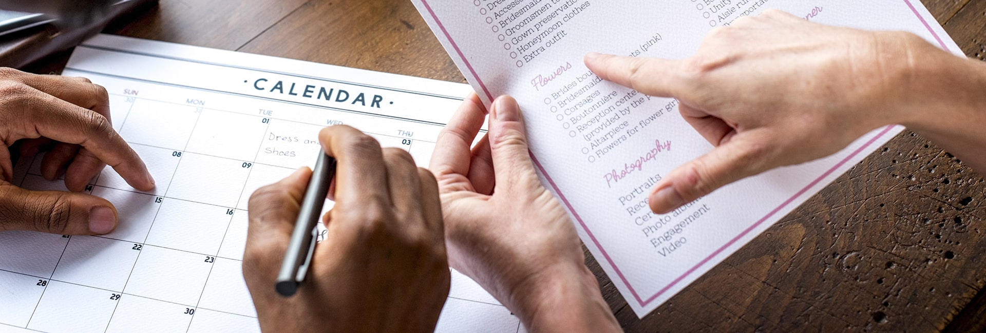 Difference between a wedding planner and coordinator