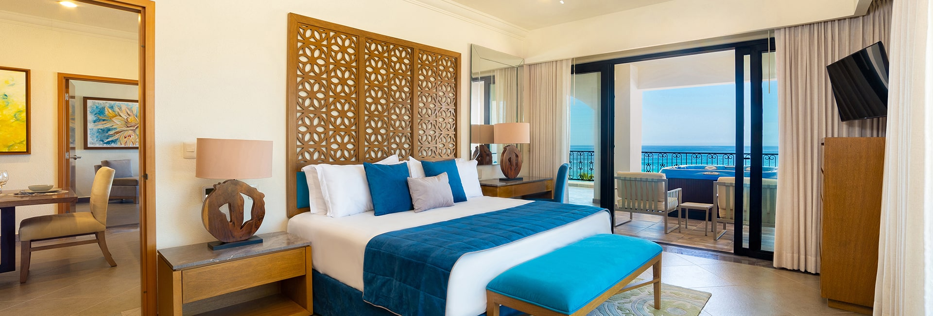 Resorts with luxury suites in los cabos