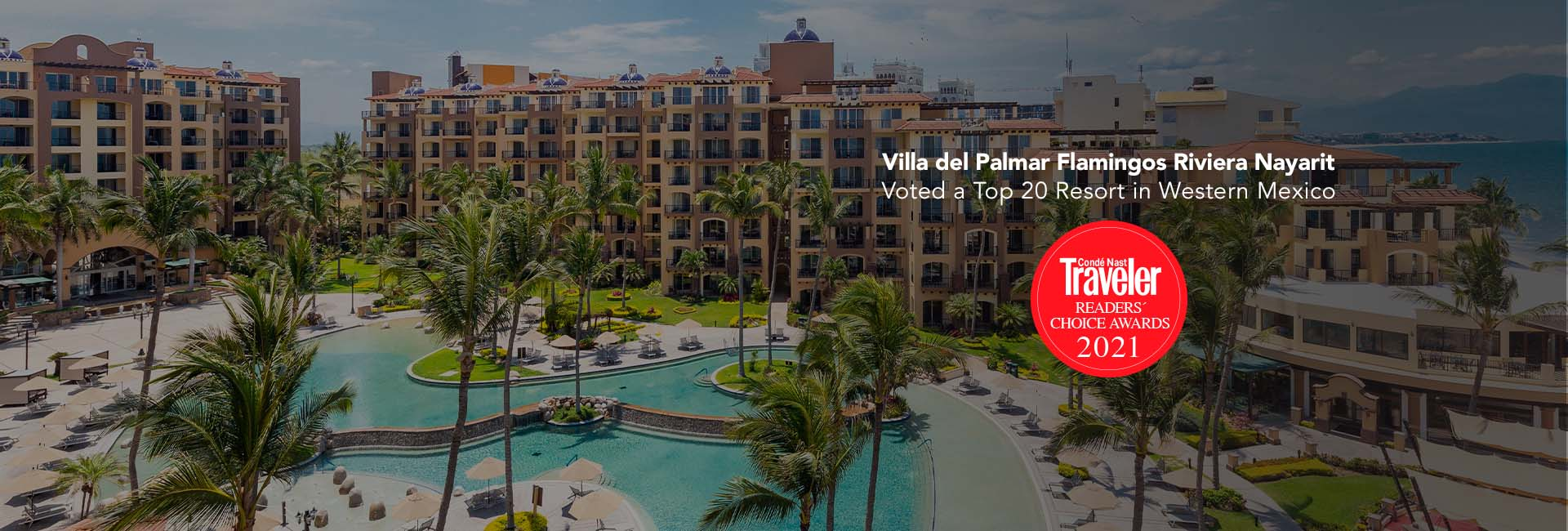 Villa del palmar one of the best resorts by conde nast readers choice awards 2021