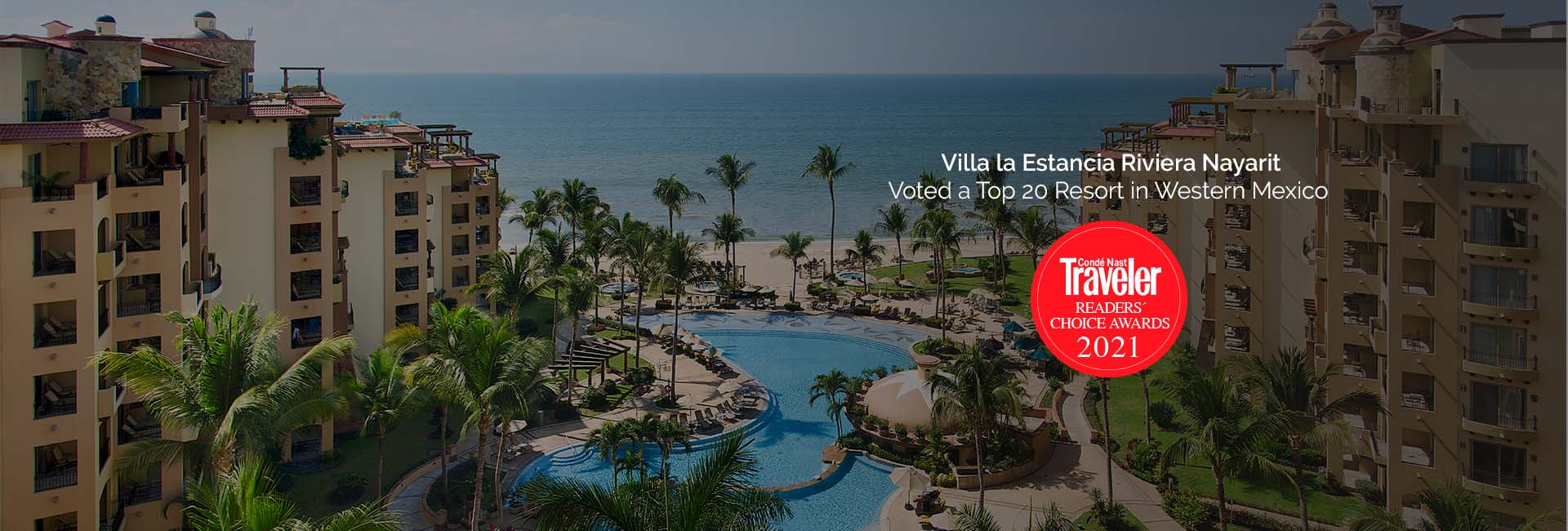 Villa la estancia one of the best resorts by conde nast readers choice awards 2021
