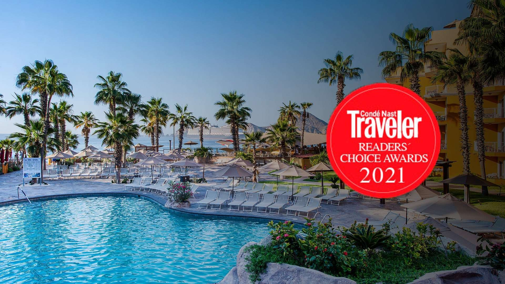 Villa Del Palmar Cabo San Lucas Among The Top Resorts In Western Mexico According To The Conde Nast Ranking