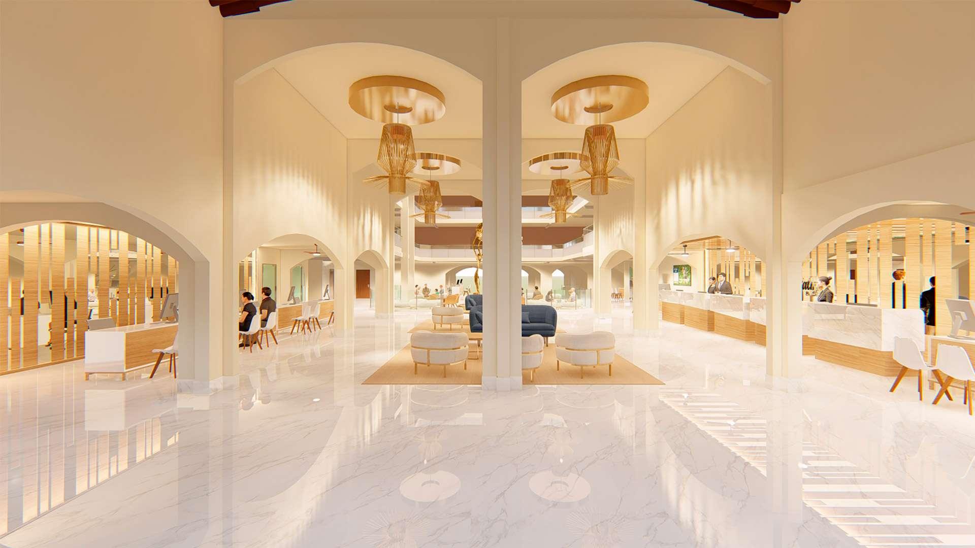 An Inviting New Look For The Lobby   Restaurant El Patron At Villa Del Palmar Puerto Vallarta