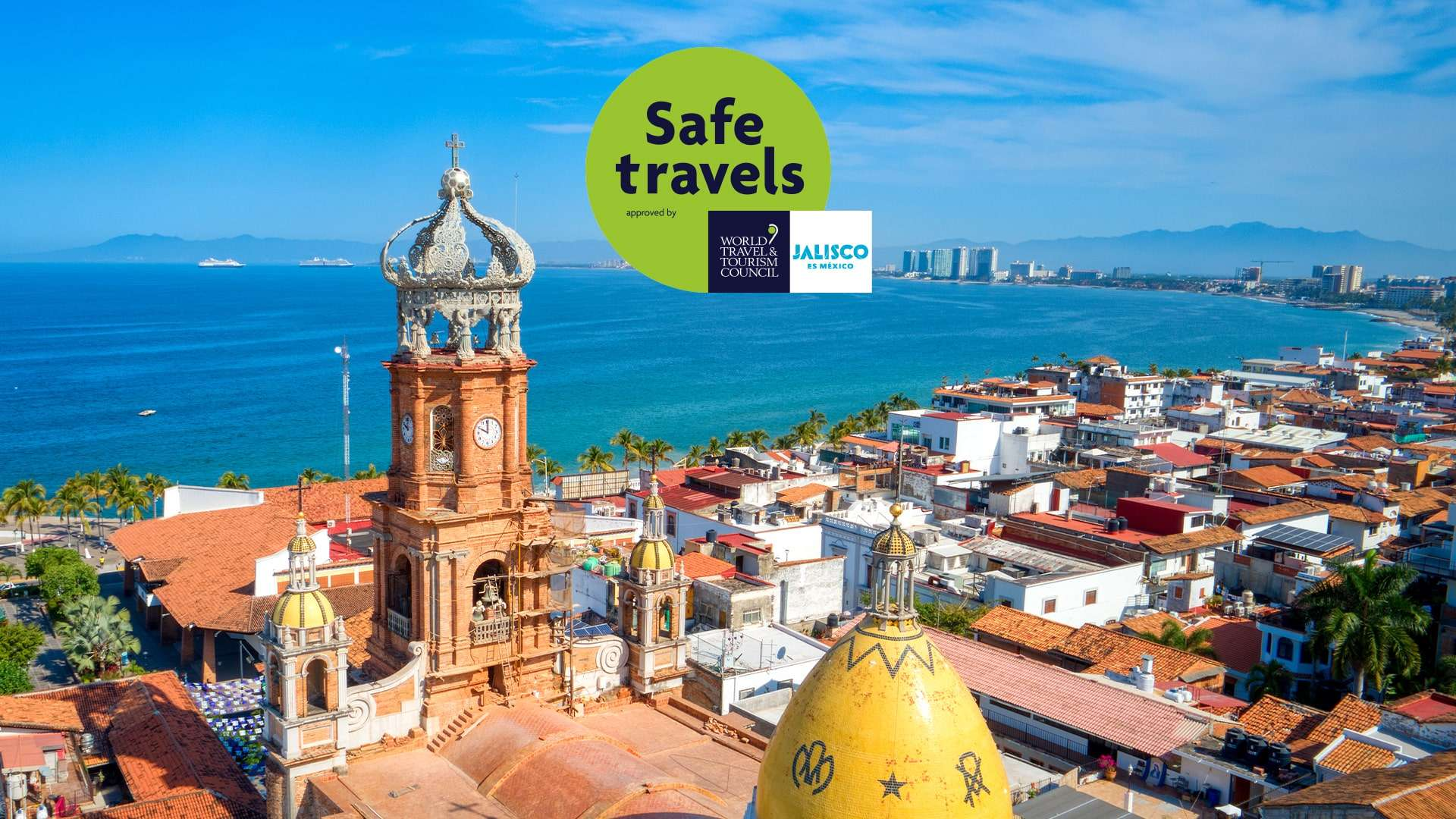 Puerto Vallarta Receives Wttc Safe Travels Stamp