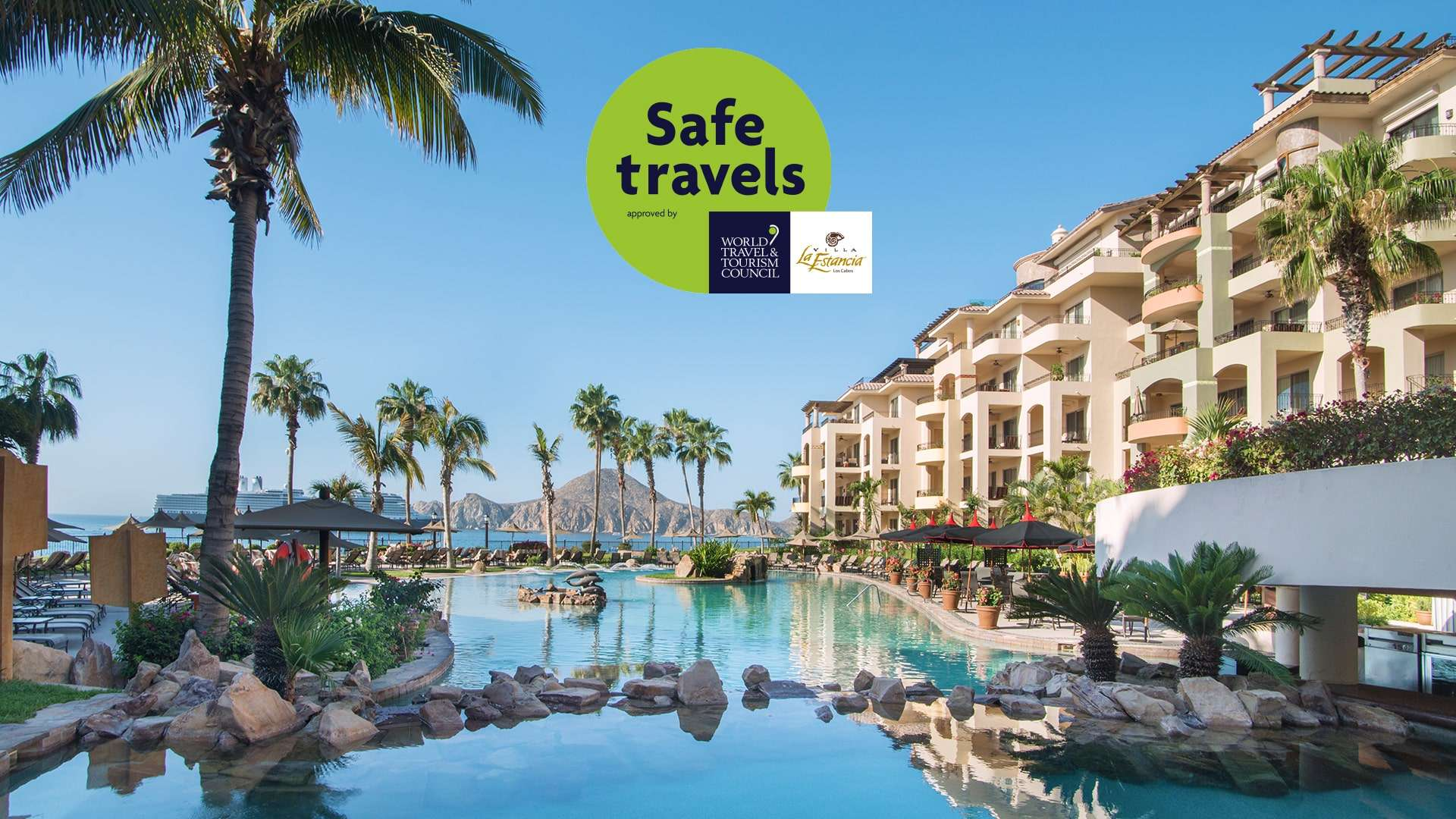 Villa La Estancia Los Cabos Earn Wttc Safe Travels Stamp