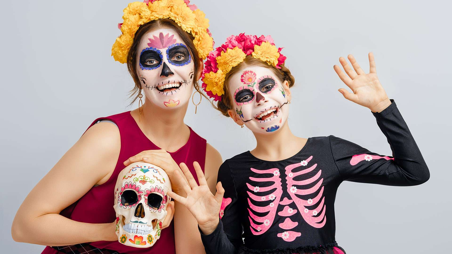 Day Of The Dead Celebration In Nuevo Vallarta Mexico