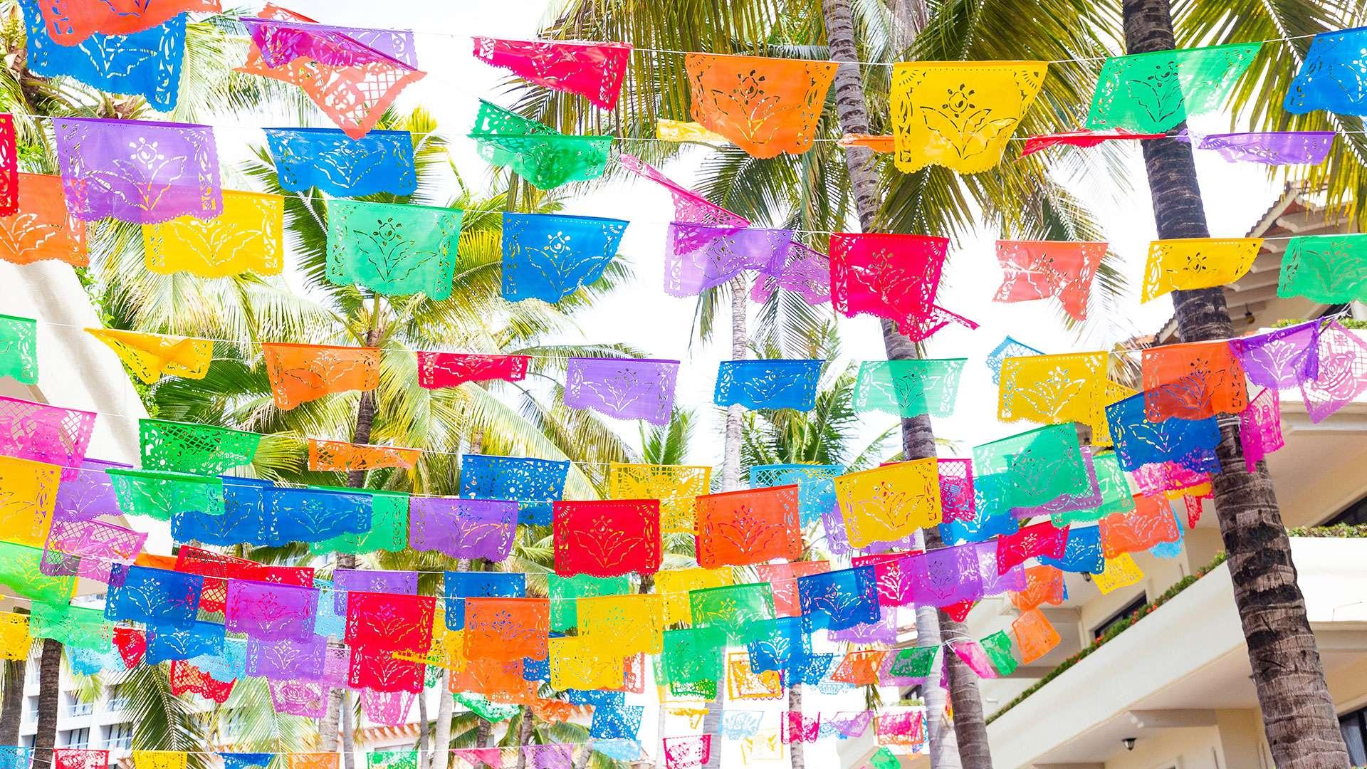 Mexican Experience Decoration At Villa Del Palmar Puerto Vallarta