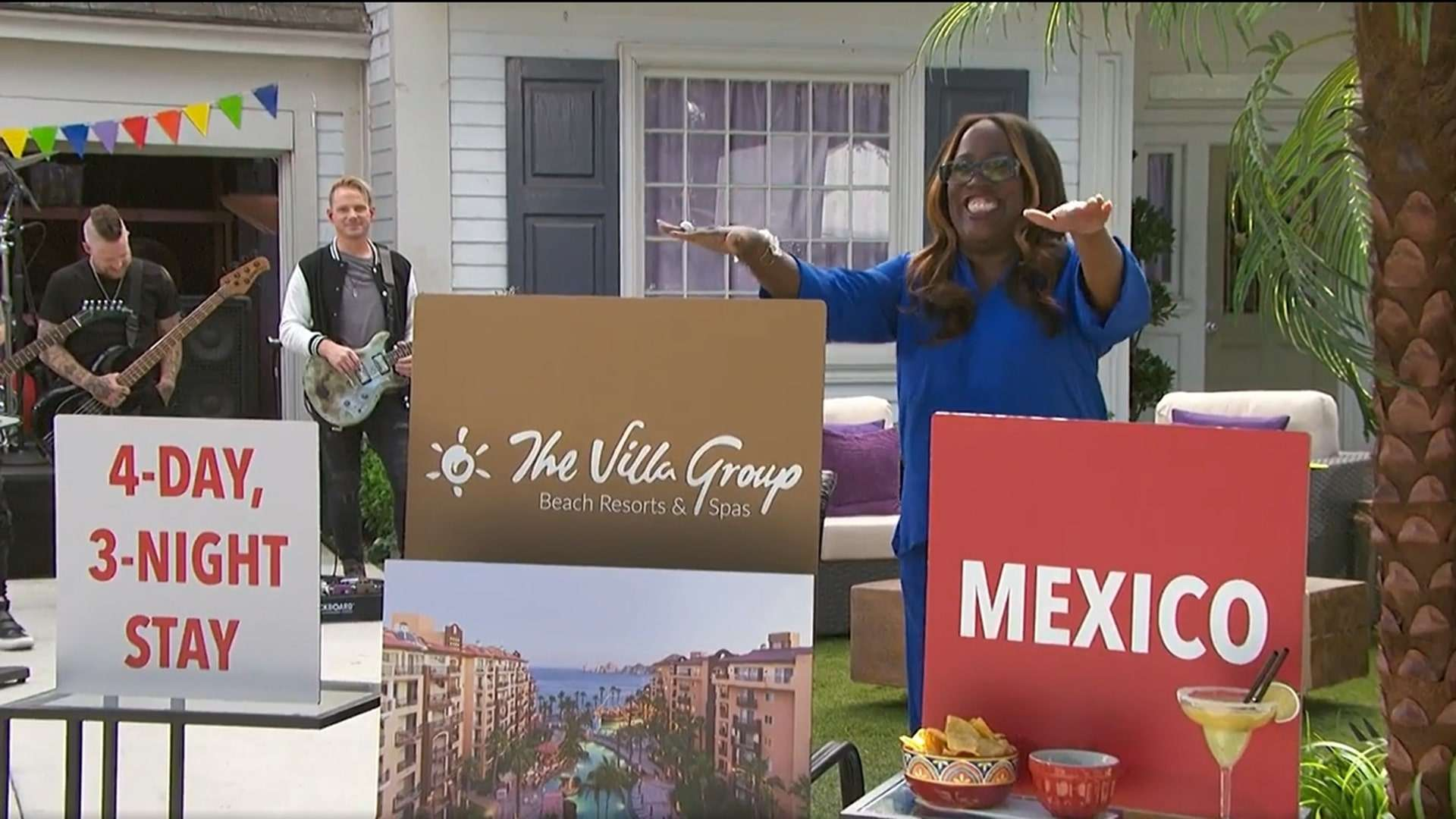 The Talk Show Gives Away Vacation In Mexico