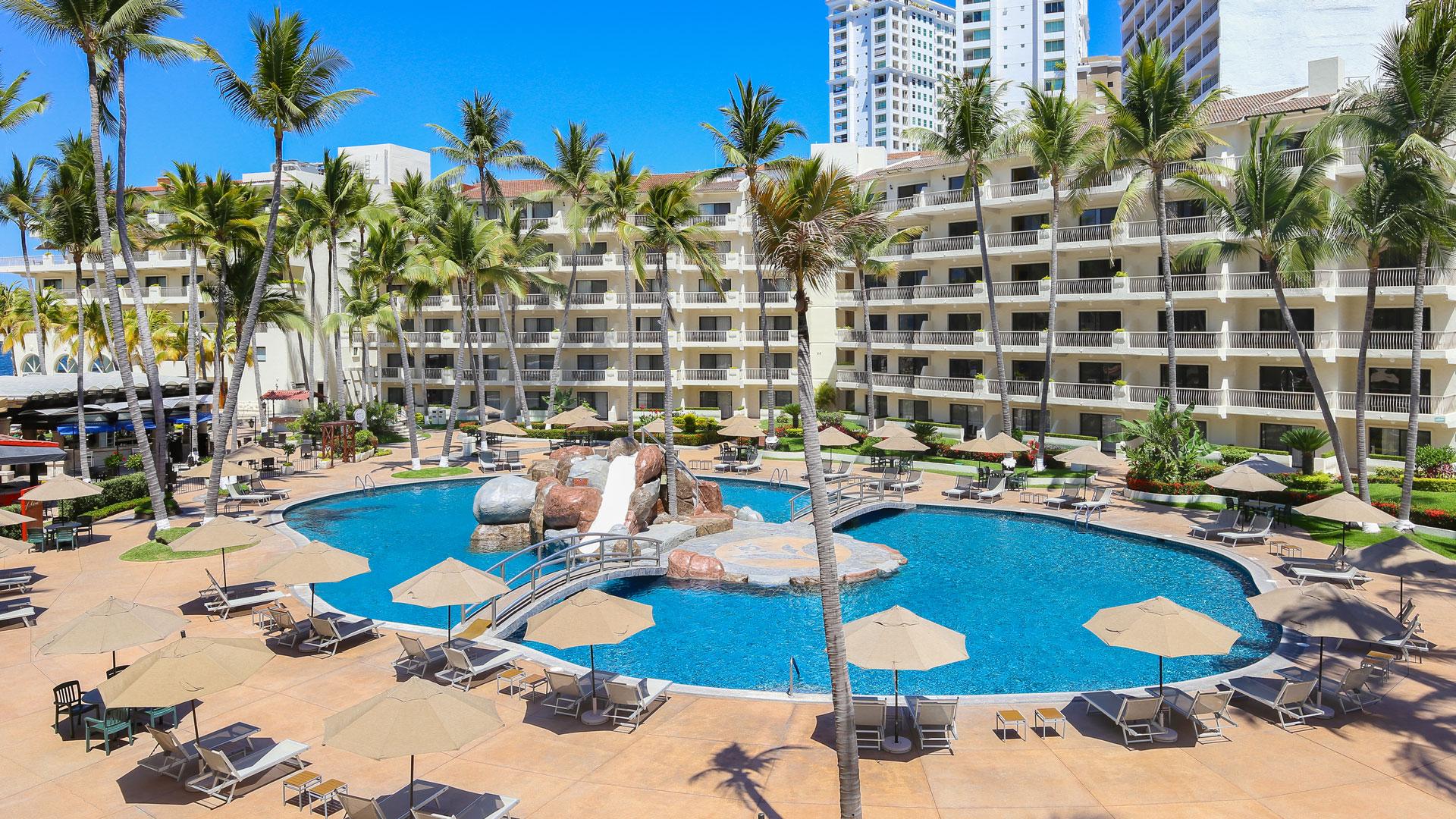 Villa del palmar puerto vallarta pool 2