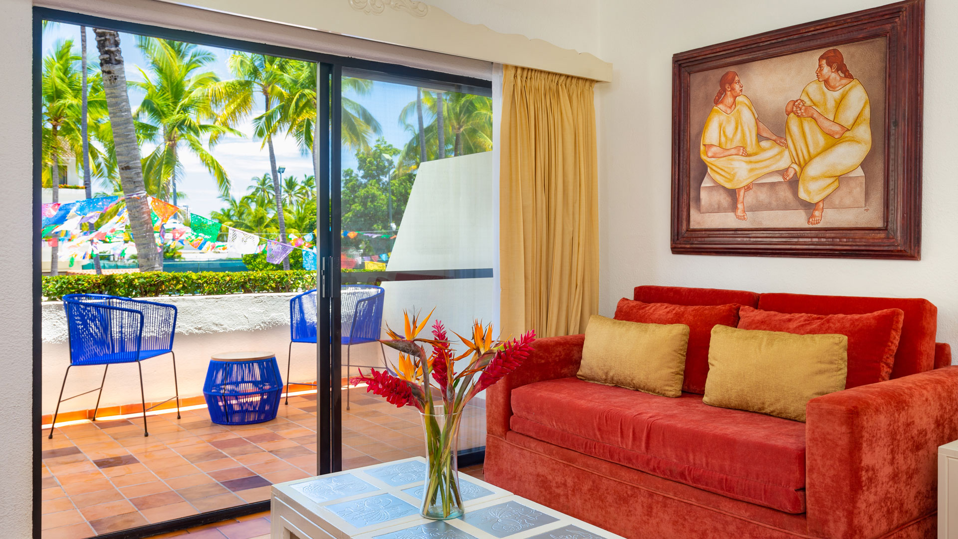 Magenta Suite Villa del Palmar Beach Resort & Spa Puerto Vallarta