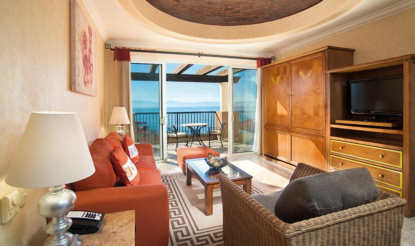 Presidential Two Bedroom Suite Villa del Palmar Flamingos Beach Resort & Spa Riviera Nayarit