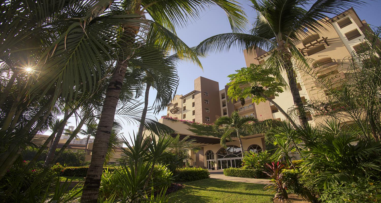 Villa Del Palmar Flamingos Riviera Nayarit Entrance
