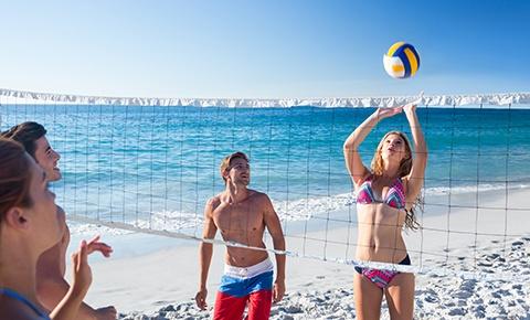 Voleibol De Playa Y Alberca