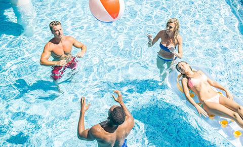 Villa Del Palmar Flamingos Riviera Nayarit Voleibol De Playa Y Alberca