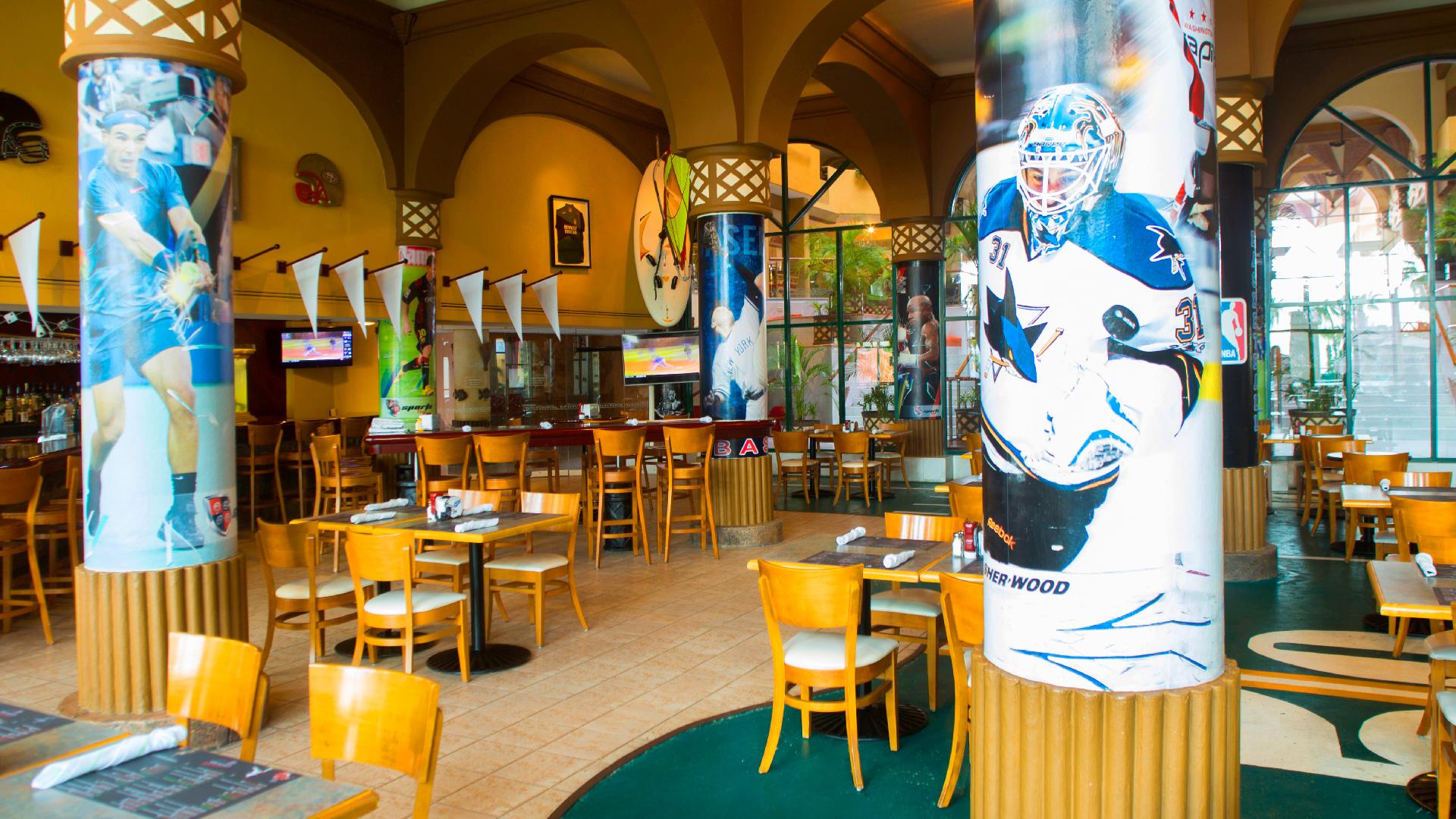 Villa del palmar cabo san lucas sport bar restaurant 1