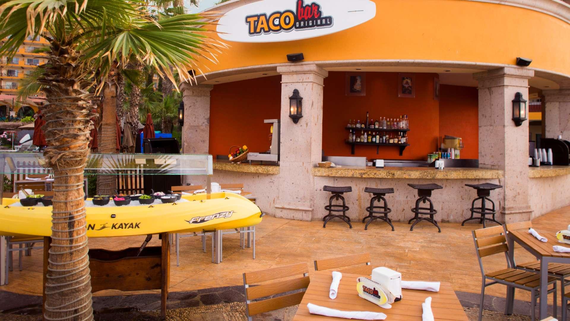 Villa Del Palmar Cabo San Lucas Taco Bar Restaurant