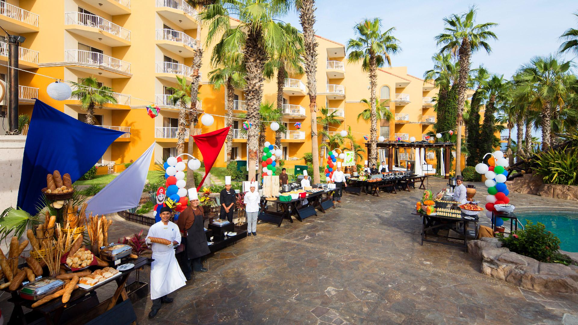 Villa del palmar cabo san lucas tortugas terrace restaurant 3