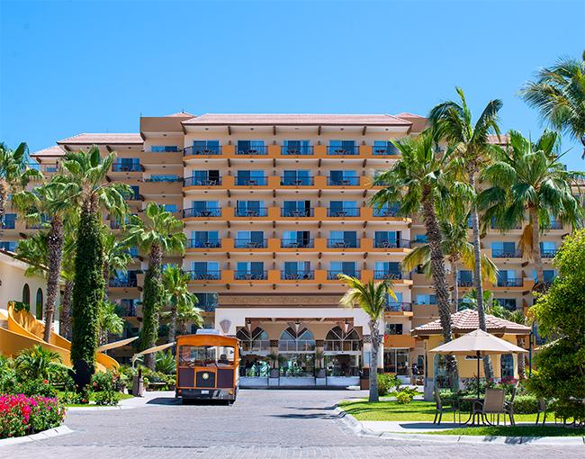 Villa Del Palmar Cabo San Lucas Entrance
